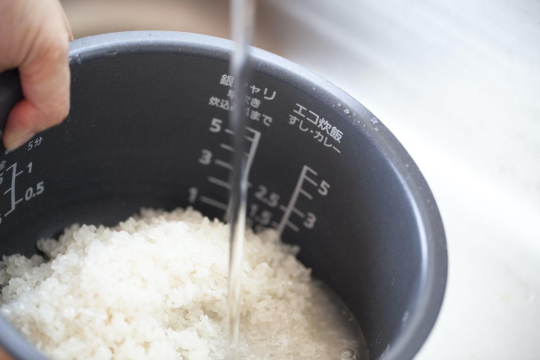 と は 洗米 無